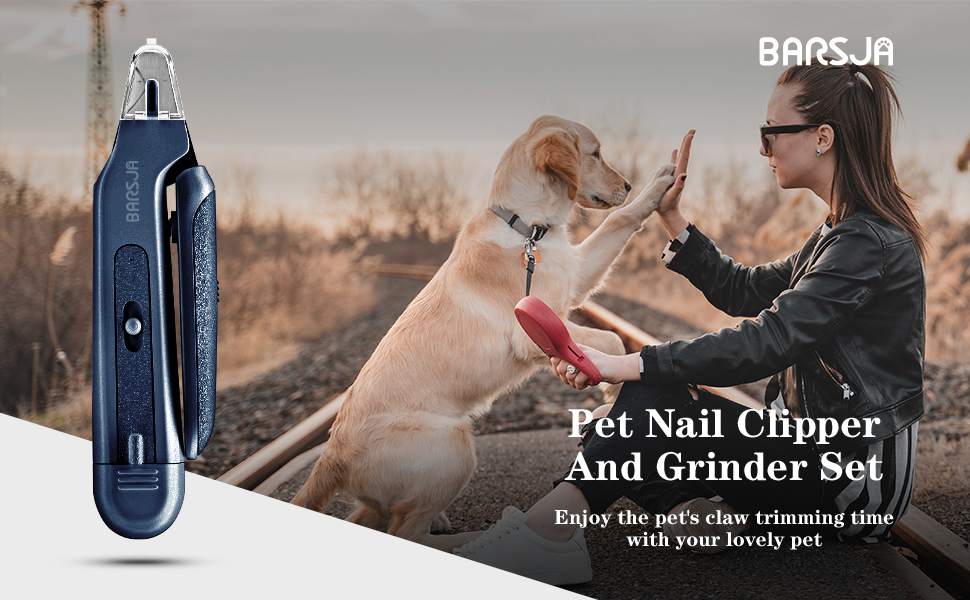 Enjoy the pet's claw trimming time with your lovely pet