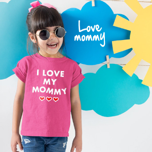 mother s day shirts for kids mom kids shirt kids i love my mommy shirt