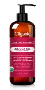 Organic Jojoba Oil, 16oz