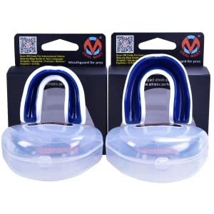 UFC Adult Sports Mouth Guard Adult Mouthguard for MMA + Oral Mart Champion Plus //w Vented Case Sparring and Any Other high Impact Sports