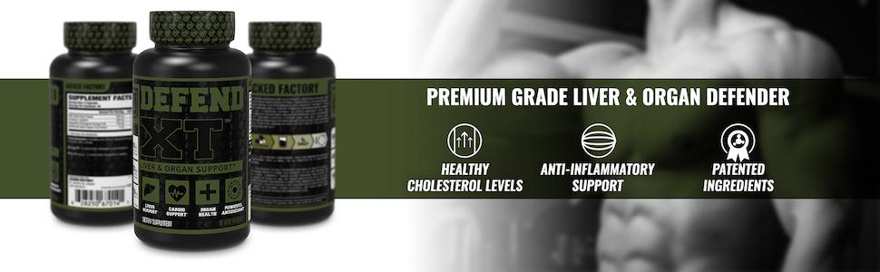 Defend-XT - Premium Grade Liver & Organ Defender
