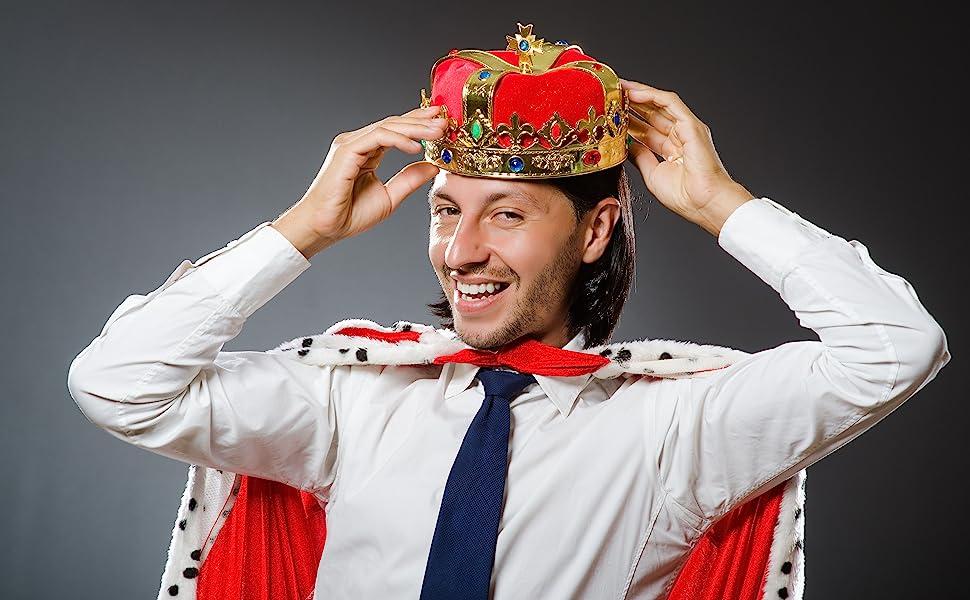 red king vintage crown