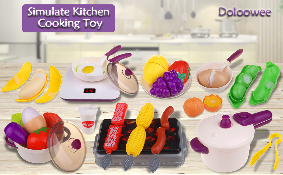 simulate kitchen toy