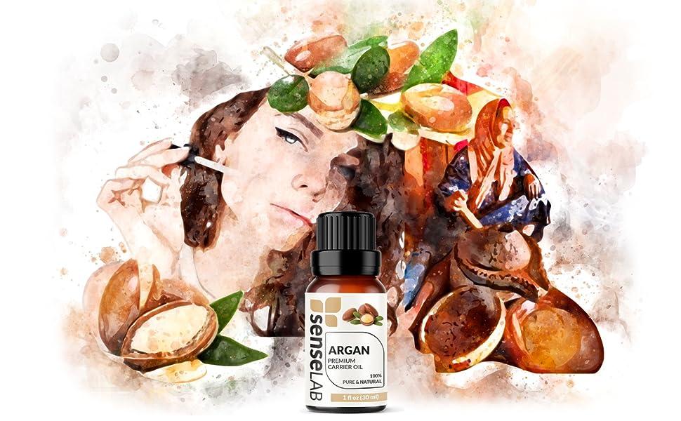 argan oil essential carrier senselab essential oils pure natural therapeutic grade organic oils