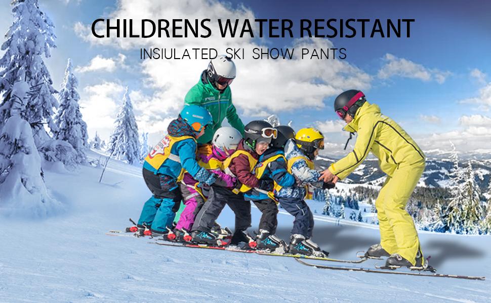 Kid ski pants