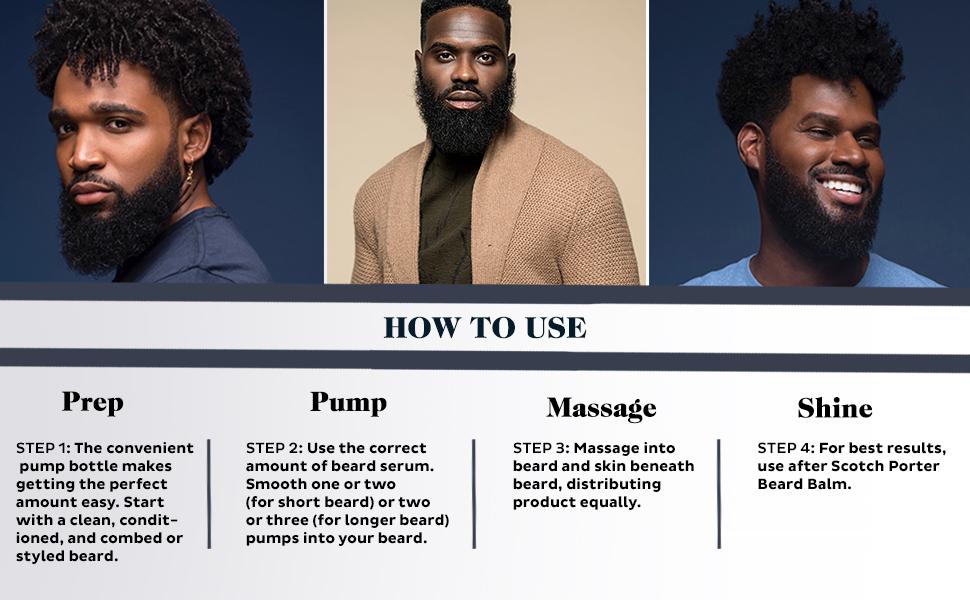 Scotch Porter Beard Serum How to Use