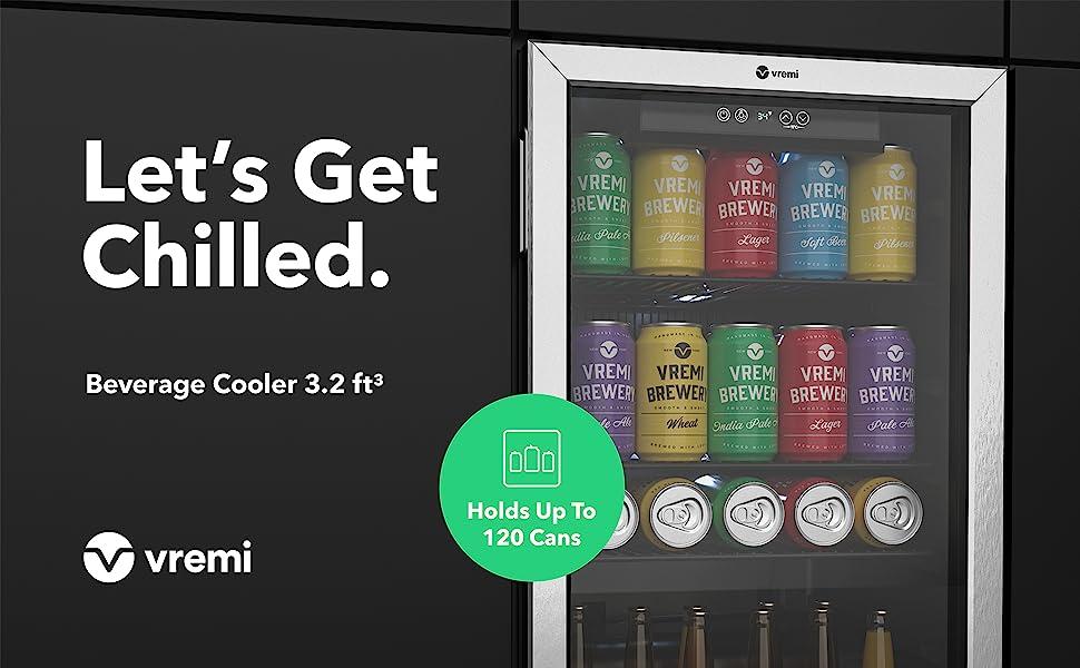 32 cu ft beverage cooler