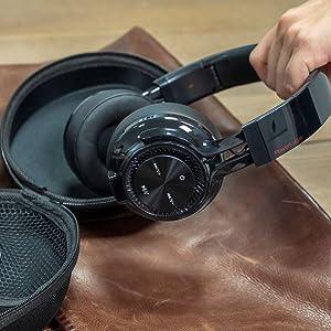 Over-Ear kopfhorer bluetooth fur erwachsene & kinder ohne knopfdruck kopfhorern mit Bluetooth