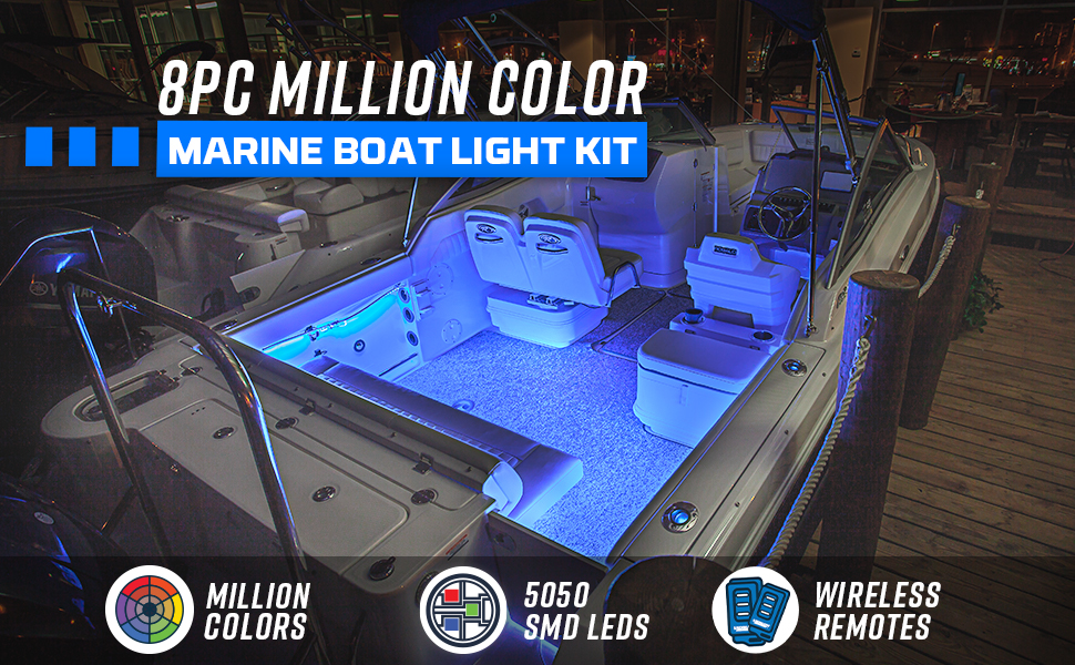 Million Color Marine Boat Light Kit