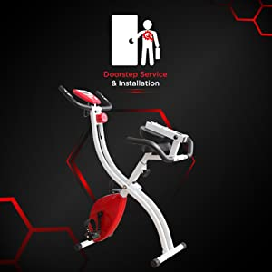 exercise bike installation service support