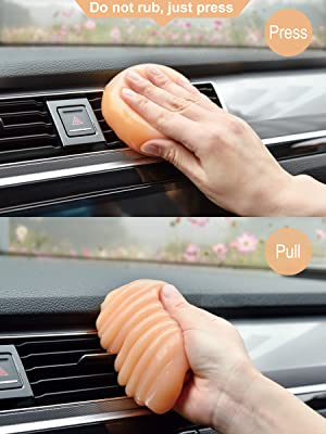 car jelly cleaner