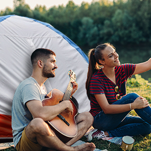 deerfamy 2 person dome tent