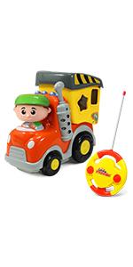 Little Pretender Remote Control Garbage Truck First RC toy Garbage truck toy 18 month remote control