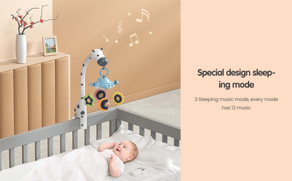 musical crib mobile