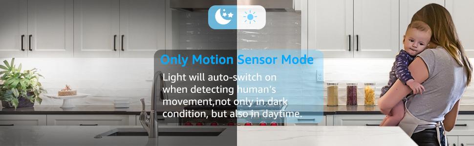 Магнитен сензор за движение Нощна светлина