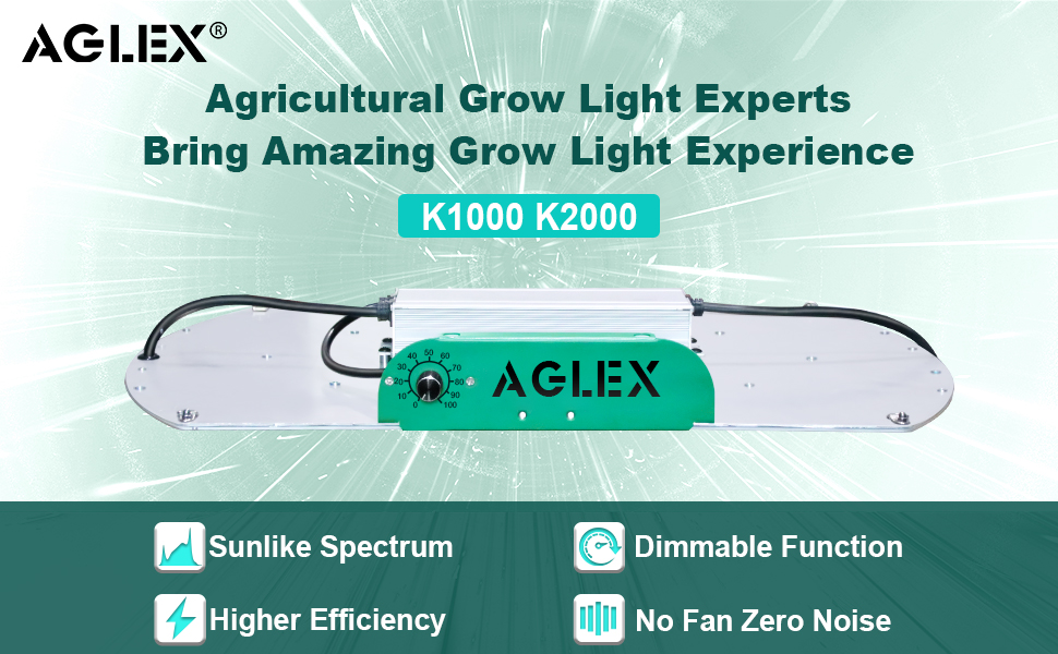 AGLEX LED GROW LIGHT 2000W