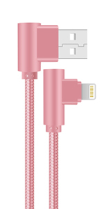 right angle lightning cable iphone charging cable usb iphne charging cord 10ft