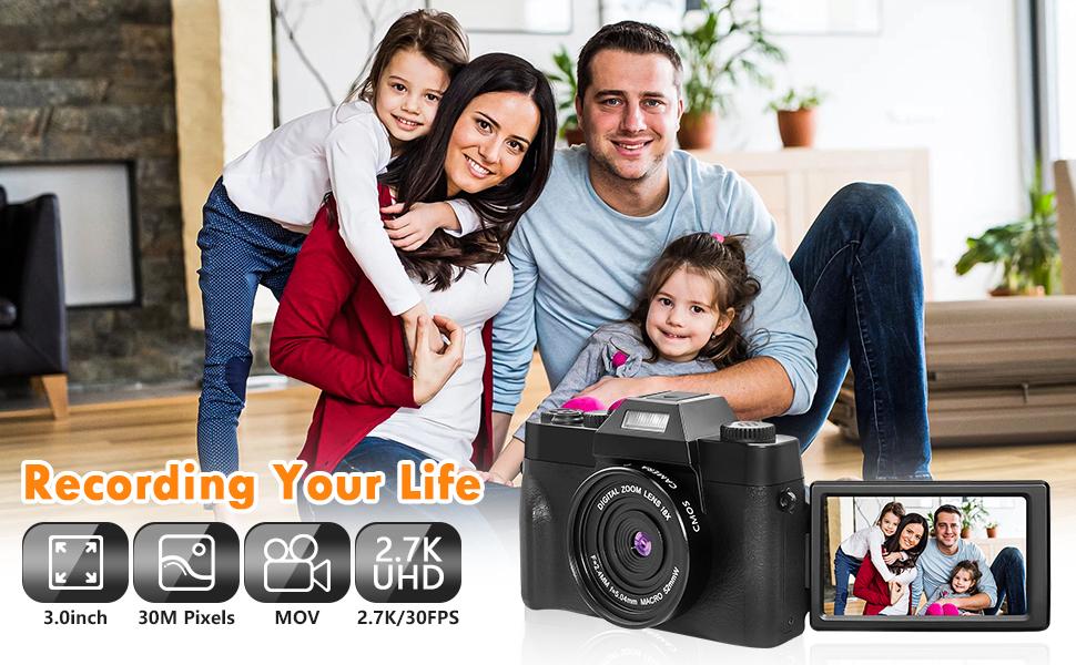 2.7k digital camera