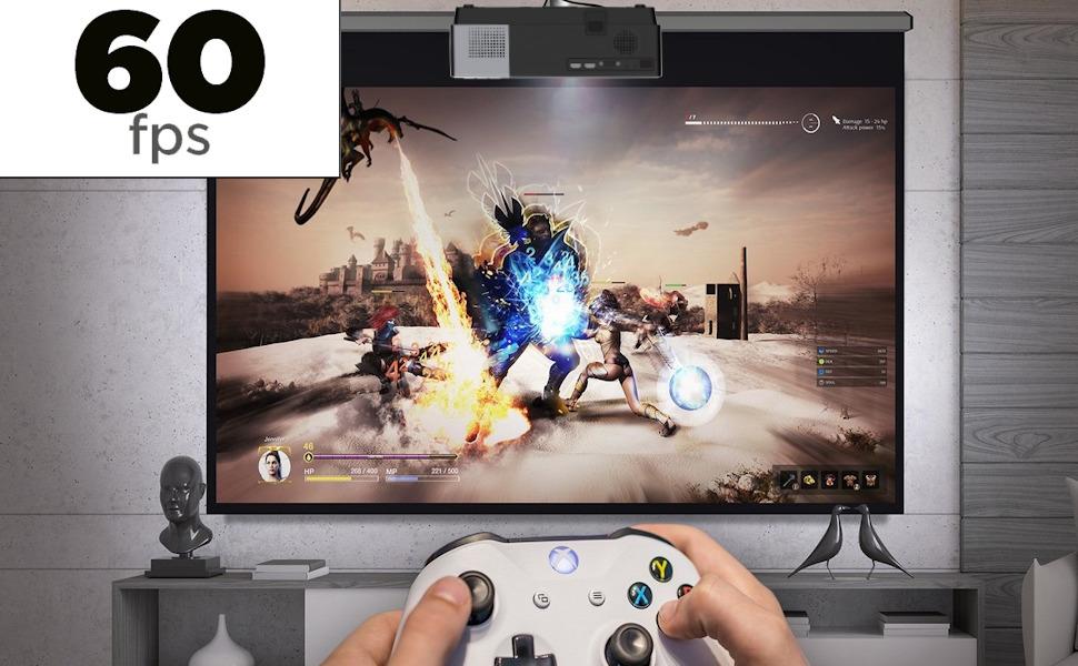 video juegos a 60fps, imagen fluida, sin lag, input lag, ps5, ps4, xbox, luximagen fuhd230, fuhd200