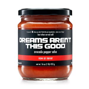 DREAMS AREN'T THIS GOOD Now or Never - Avocado Pepper Salsa