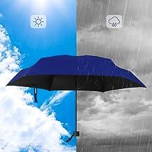 Mini paraguas pequeño con funda de diseño compacto perfecto para Details about  /Yoobure