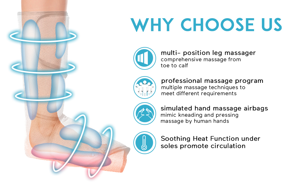 for Circulation and Muscles Relaxation