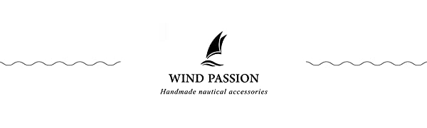 Wind passion bracelets are inspired by sea, sailing, water sports