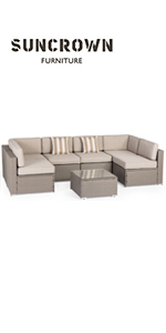 7 Piece Outdoor Dining Set Under 300 2
