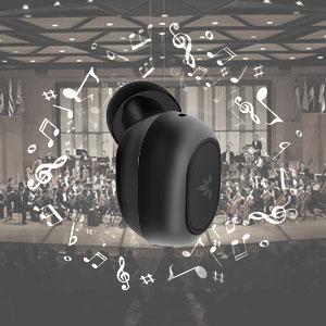 hifi stereo true wireless earbuds