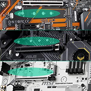 M.2 SSD-schroevenset.