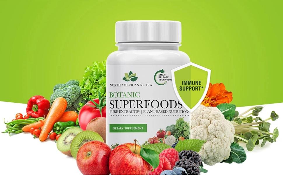 Botanic superfoods supplement