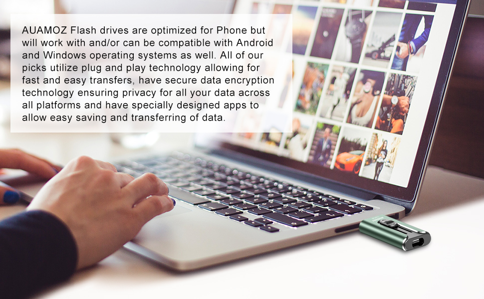 phone picture storage device phone usb flash drive phone flash drive memory stick for phone 128gb