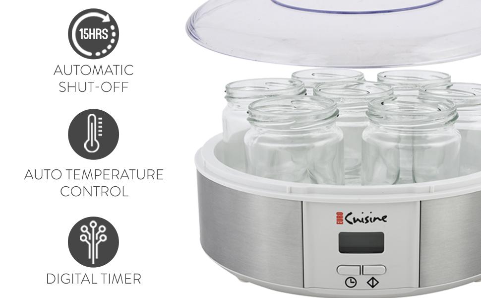 features automatic shutoff auto temperature control digital timer