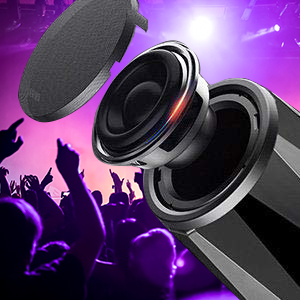 HD Hifi Bass Sound, give loud and cleanr sound
