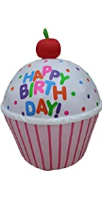 bzb goods happy birthday cakes candles cupcakes gifts decoration 1st boy girl party favor supplies