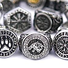 norse viking rings