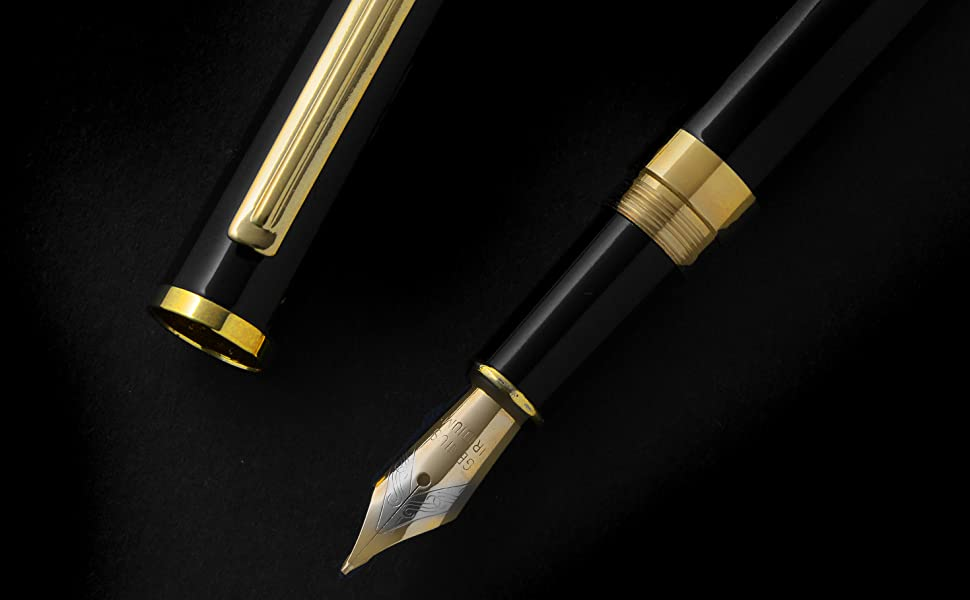 Fountain pen black