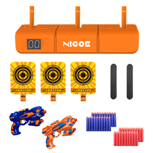 all accessories of NIGOE electronic target set for kids
