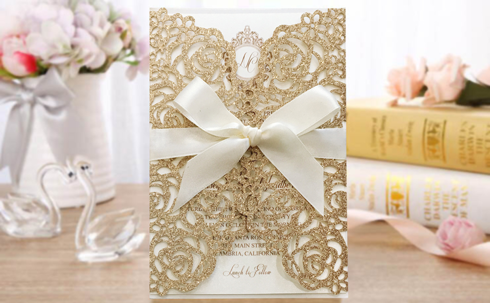 Elegent wedding invitation