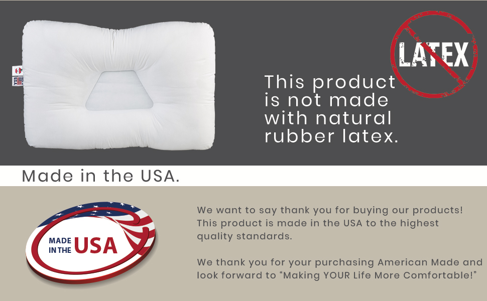 Latex free and made in the USA with high quality standards