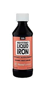 Novaferrum high potency liquid Multivitamin with Iron supplement for children