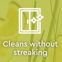 Puracy Natural Multi-Surface Cleaner - Organic Lemongrass 2pk - Cleans without streaking