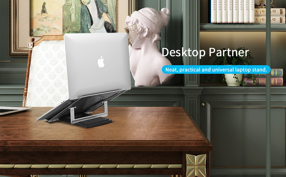 Computer laptop stand