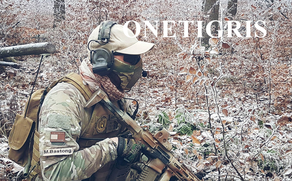 Tactical Mask Half Mask