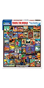Travel The World Puzzle