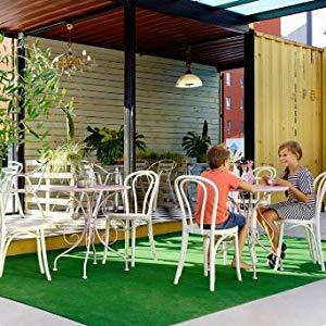 etc Balcon Tapis Gazon Artificiel GREEN avec Picots de Drainage Terrasse Jardin Moquette dext/érieur Marron 4,00m x 2,50m Tapis Type Gazon Synth/étique au m/ètre