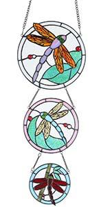 Bieye dragonfly window panel