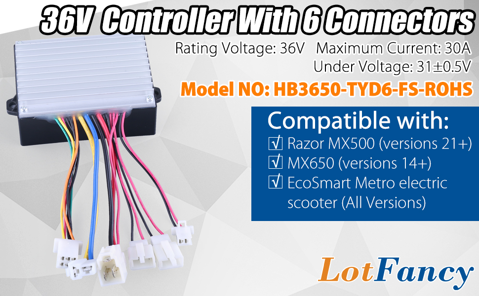 extra cost for csc 36V controller