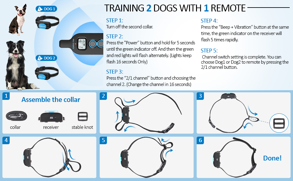 dog training collar for large breed dogs