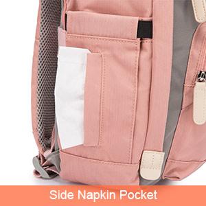 Side Napkin Pocket